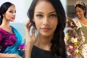 'Ngỡ ngàng' trước nhan sắc 'hút hồn' của Hoa hậu Hoàn vũ Sri Lanka 2017