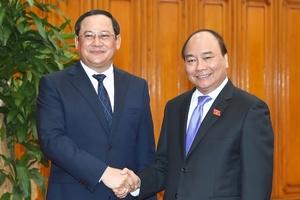 Tạo điều kiện cho Lào khai thác một số cầu cảng tại cảng Vũng Áng
