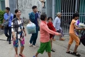 Hàng nghìn người dân ven biển Cần Giờ sơ tán tránh bão đã trở về nhà