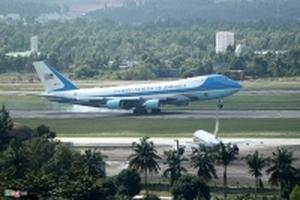Chiều tối nay, Tổng thống Mỹ Donald Trump sẽ tới Hà Nội