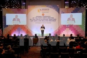 Các bộ trưởng RCEP nhất trí thúc đẩy ký kết thỏa thuận trong năm 2018