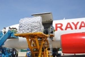 Cận cảnh 17 tấn hàng viện trợ các tỉnh bị ảnh hưởng bão lũ của ASEAN