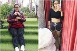 Bà mẹ sau sinh giảm thần kỳ 27kg: 'Đẹp tự nhiên nhưng không tự nhiên mà đẹp'