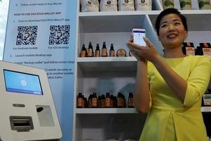 Quán cà phê tiền ảo đầu tiên xuất hiện tại Singapore