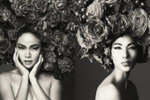 Hoàng Thùy, Mâu Thủy chụp ảnh bán nude có trái quy định của Hoa hậu Hoàn vũ VN 2017?