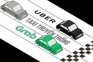 Bộ GTVT 'thừa nhận nhiều hạn chế' của Uber, Grab
