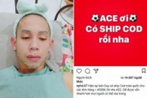 Chưa kịp đáp xuống sân bay, Hồng Duy đã đăng bài bán mỹ phẩm online khiến Fan thích thú