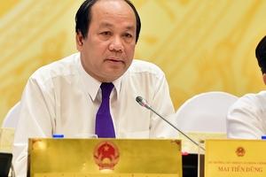 Bộ trưởng Mai Tiến Dũng: Trường Hải hứa thưởng ô tô cho HLV Park Hang Seo là phải làm ngay