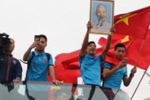 VFF sở hữu quyền khai thác thương mại đối với đội tuyển U23 Việt Nam