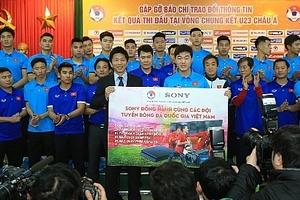 Sony trao thưởng hơn 3,5 tỷ đồng cho U23 Việt Nam