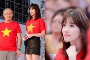 Hari Won nói gì khi lần đầu tiên trở thành phiên dịch viên cho HLV Park Hang-seo?