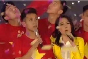 Mỹ Tâm, Duy Pinky và U23 Việt Nam đã làm 'dậy sóng' hàng triệu con tim với Niềm tin chiến thắng