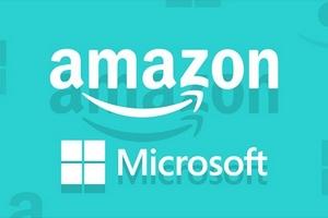 Giá trị thị trường của Amazon vượt Microsoft lần đầu tiên trong lịch sử