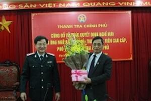 Phó Tổng Thanh tra Chính phủ Ngô Văn Khánh nghỉ hưu từ ngày 1/3