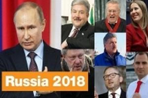 Hôm nay, người dân Nga đi bỏ phiếu bầu cử tống thống