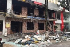 Nhà hàng bất ngờ nổ lớn trong đêm, cả TP Vinh rung chuyển