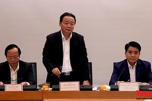 Bộ TNMT sẽ phối hợp với TP Hà Nội thanh kiểm tra các dự án treo trên địa bàn Hà Nội