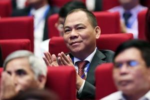 VIC chiếm ngôi đầu vốn hóa thị trường, ông Phạm Nhật Vượng lọt top 300 tỷ phú thế giới