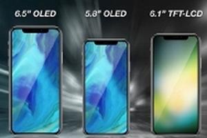 Dự kiến giá bán của iPhone X Plus màn hình OLED 6.5 inch sẽ ra mắt trong năm nay