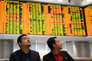 Thị trường chứng khoán châu Á chao đảo vì sự lao dốc của nhóm công nghệ phố Wall