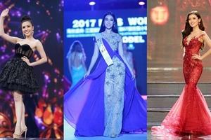3 đại diện Việt Nam có cơ hội tranh danh hiệu Hoa hậu của các Hoa hậu 2017