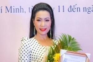 NSƯT Trịnh Kim Chi giành giải Vàng diễn xuất tại Liên hoan Kịch nói toàn quốc 2018