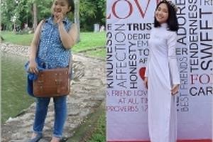Thường xuyên bị chê mập, cô gái giảm cân thành công 20kg trong 4 tháng