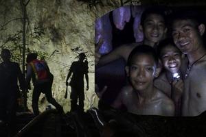 KỲ TÍCH: Đội bóng Thái sống sót sau 10 ngày kẹt trong hang động ngập nước