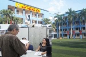 Trường Lý Thái Tổ không trả lại phí đặt chỗ 2 triệu đồng dù học sinh không đến nhập học
