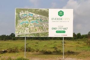 Phát hiện nhiều sai phạm tại dự án Everde City Tân Đức