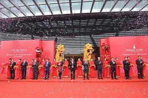 Hải Phòng: Vingroup khai trương Tổ hợp Trung tâm thương mại & khách sạn cao nhất Đông Bắc bộ