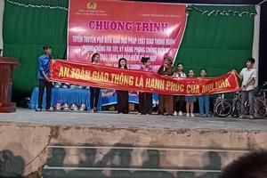 Công an huyện Cẩm Xuyên, Hà Tĩnh: Đẩy mạnh tuyên truyền về an toàn giao thông