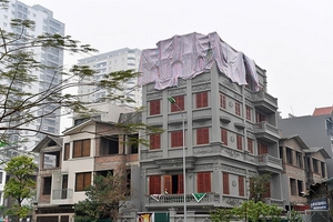 Hà Nội: Yêu cầu xử lý dứt điểm công trình sai phép, không phép