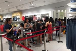 Cửa hàng thứ hai của H&M tại Hà Nội đã chính thức khai trương