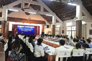 """Đắk Lắk: Tổ chức Chương trình """"Đồng hành cùng doanh nghiệp"""""""