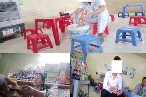 Hà Nội: Khói thuốc lá bủa vây Bệnh viện Đa khoa Đức Giang