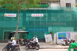 Nhà chồng siêu mẫu Ngọc Thạch đã bán dự án 131 Thái Hà?