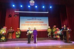 Học trò của giải Nobel y học được bổ nhiệm hiệu trưởng Đại học Y Hà Nội