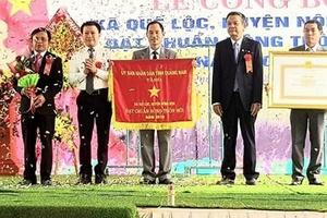 Xã Quế Lộc chuyển mình từ Nông thôn mới