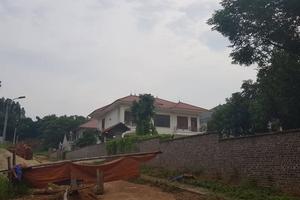 Vĩnh Phúc: Được giao đất rừng, Công ty Kim Long để biệt thự ''mọc'' tràn lan