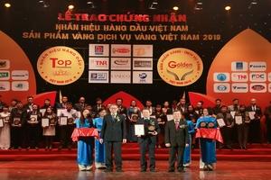 """Văn Phú – Invest vinh dự nhận Top 50 """"Nhãn hiệu hàng đầu Việt Nam"""""""