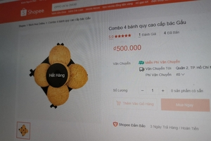 Shopee có thể bị phạt 500 triệu đồng nếu 'bánh cần sa' còn được bán