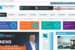 Cảnh báo tiền ảo FutureNet có dấu hiệu kinh doanh theo phương thức đa cấp trái phép