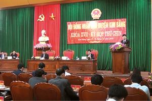 Huyện Kim Bảng, Tỉnh Hà Nam: Kinh tế - xã hội phát triển toàn diện, bền vững