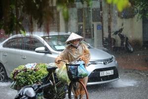 Thời tiết ngày 9/9: Bắc Bộ mưa dông, cảnh báo lốc, sét, mưa đá và gió giật mạnh