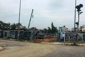 TP Thanh Hóa: Chưa được cấp phép chủ đầu tư đã tiến hành ép cọc xây dựng nhà ở xã hội