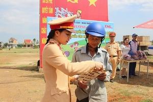 Phòng CSGT, Công an Đắk Lắk: Tăng cường công tác đảm bảo trật tự ATGT