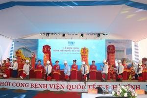 Hà Tĩnh: Khởi công xây dựng Bệnh viện quốc tế đầu tiên