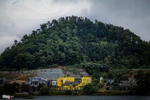 Đào núi, lấp hồ xây biệt thự trong rừng phòng hộ Sóc Sơn