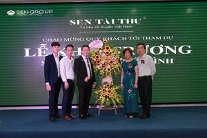 Sen Tài Thu: Khai trương cơ sở trị liệu cổ truyền Việt Nam tại Thái Bình